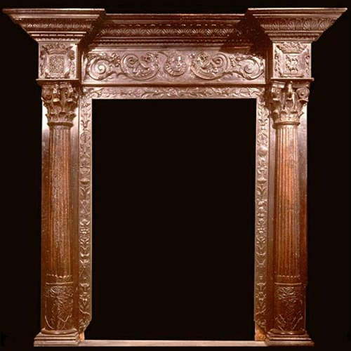 sc 1 st  Museum Replicas & Carved Wood Antique Door Frame pezcame.com