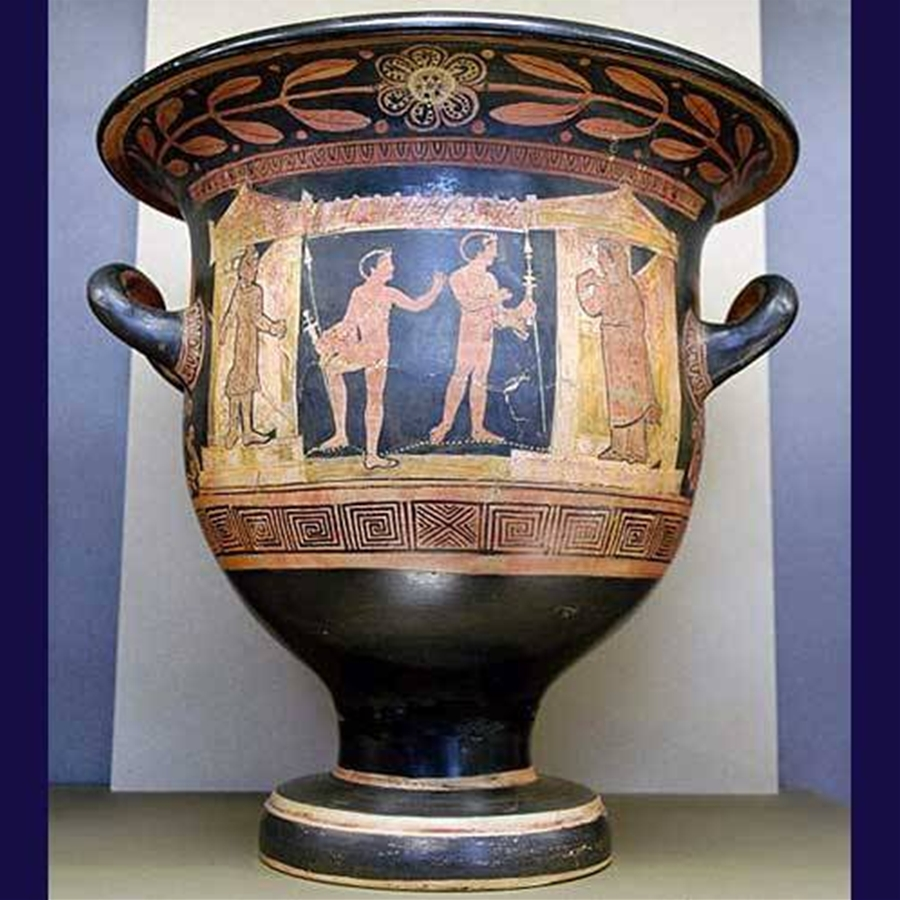 art and historical analysis of an ancient bell krater essay Art criticism and formal analysis outline art criticism determination of subject matter through naming iconographic elements, eg, historical.