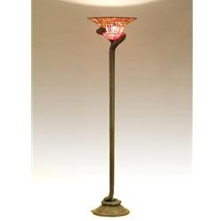 Snake Floor Tiffany Lamp