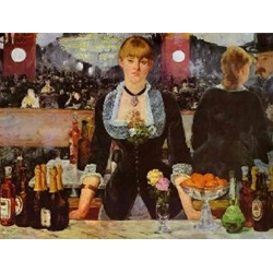 A Bar at the Folies-Bergeres, 1881-82, Edouard Manet