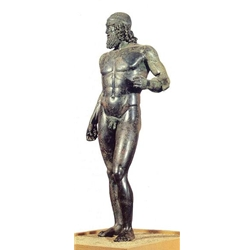 riace bronzes The modern history of the bronzes begins on august 16 ,1972, when, after an  affair with still not completely clarified implications, at porto forticchio of riace.