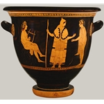 Bell Krater Scene from the Myth of Orpheus