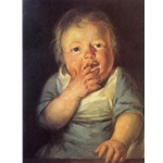 Study of a small child, jacob Jordaens, 6126