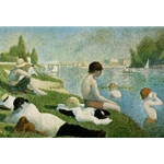 Bathers at Asnieres 1883-84 Georges-Pierre Seurat