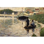 View of the Seine 1882–83 Georges-Pierre Seurat French 1859–1891